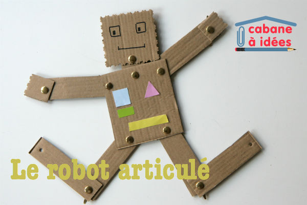 diy enfants des robots articul s cabane id es. Black Bedroom Furniture Sets. Home Design Ideas