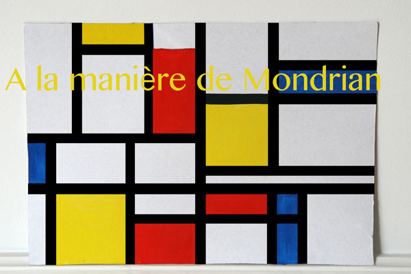 a la d couverte de piet mondrian cabane id es. Black Bedroom Furniture Sets. Home Design Ideas