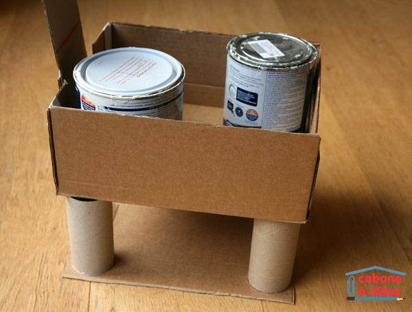Populaire Notre garage en carton - Cabane à idées KJ55