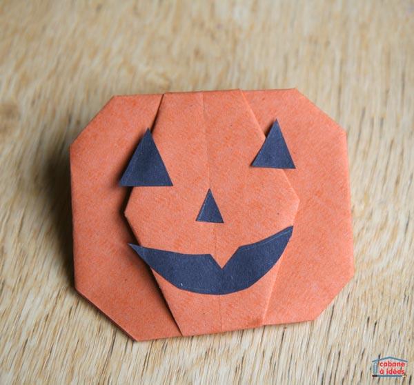 citrouille-origami