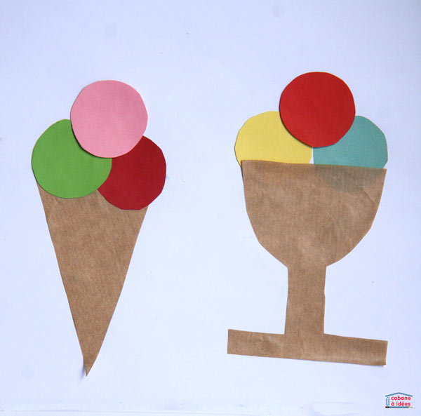 glaces-collage