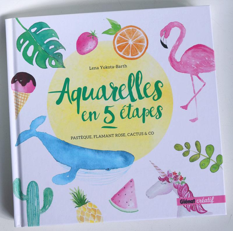 livre aquarelles en 5 étapes