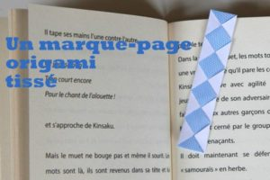 marque-page-origami-tisse